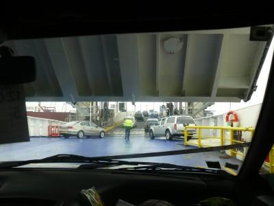 ferry de retour