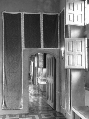 les couloirs en enfilade