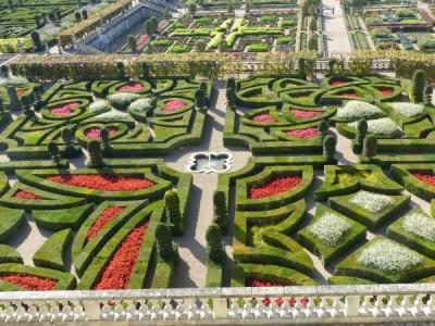 le jardin d'ornement, les jardins d'amour.