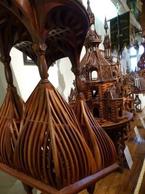 les dentelles de bois des compagnons charpentier