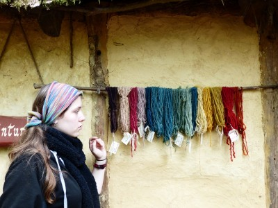 la teinte des laines et lins