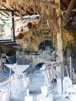 l'atelier du forgeron, un site clé pour le chantier