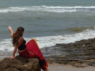 visite à la plage