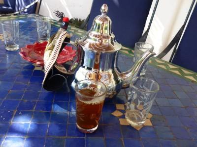 thé d'accueil