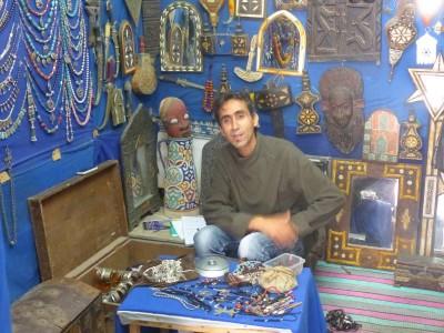 Mohammed, vendeur et troqueur !