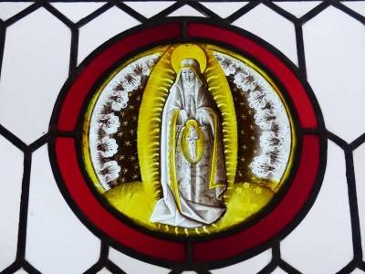 sainte Anne avec la vierge in utero