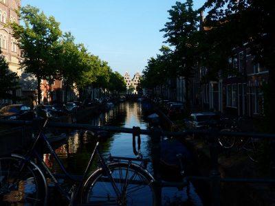 canal binnen Spaarne