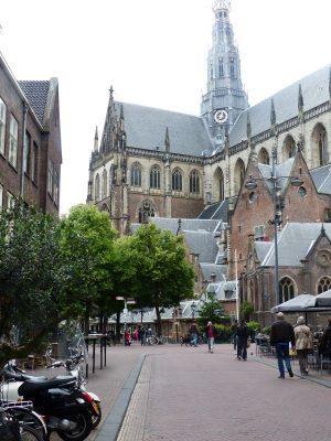 la grande église de Saint Bavo's