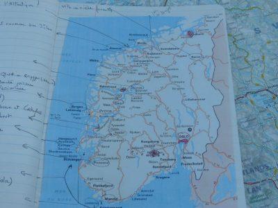 itinéraire norvégien