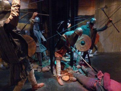 la bataille d'Olaf,  dans le musée