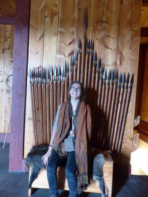 la Khaleisi sur le trône de fer !!!