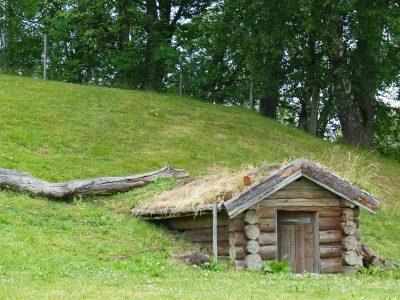 une maison de Hobbit