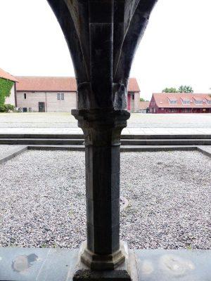 la cour du palais de l'Archevêché