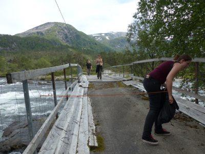 le pont des moutons, hors chemin balisé...