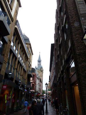 les rues de la vieille cité