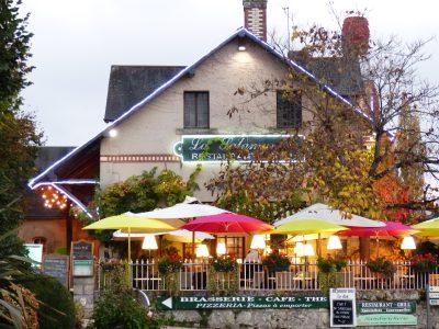 la Salamandre, le restaurant
